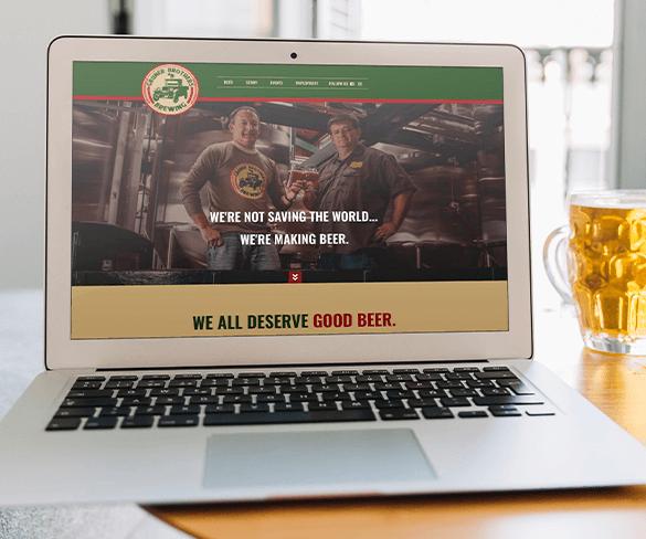 Gruner Brothers Brewing Website