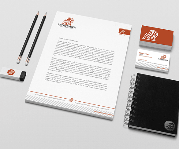 Pathfinder Federal Credit Union Stationary
