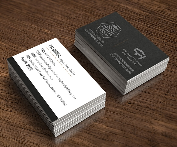 North Platte Lodge Business Card