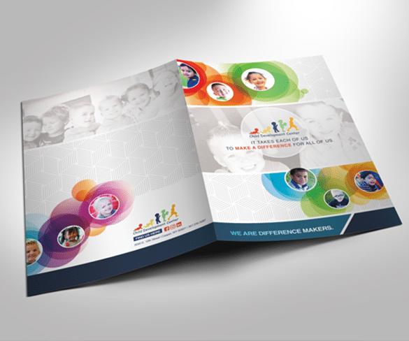 Child Development Center Folder