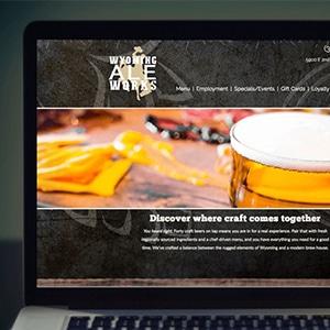 Wyoming Ale Works Website