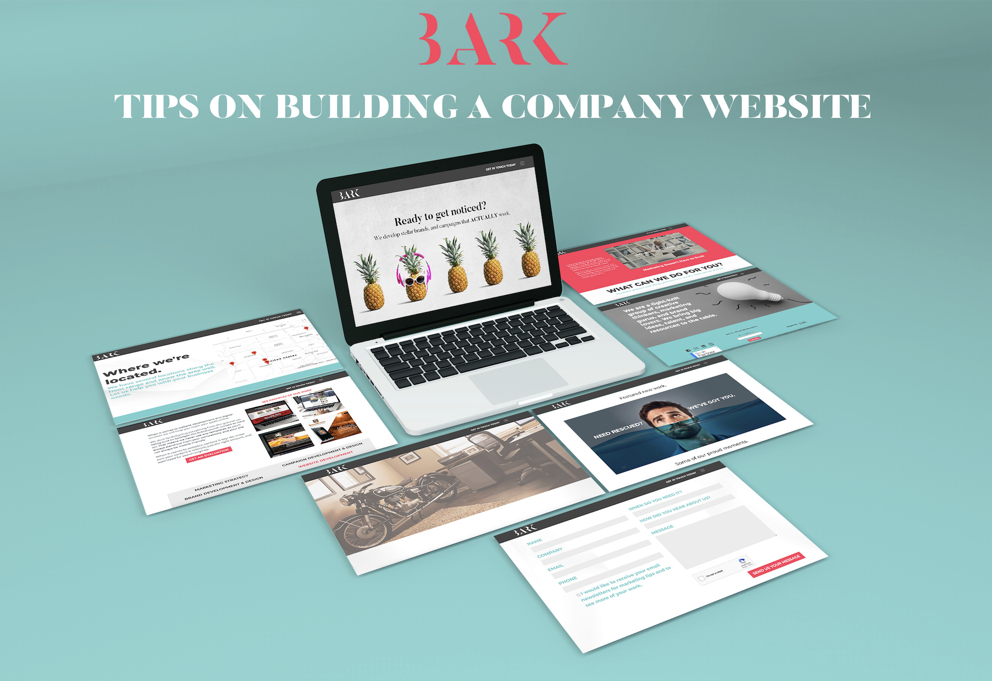 Tips On Building A Company Website